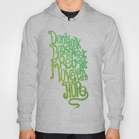 Don't Look Back With Reg… Hoody