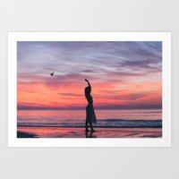 Sunrise Part 1 Art Print