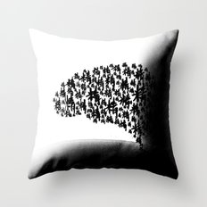 too long without sex Throw Pillow