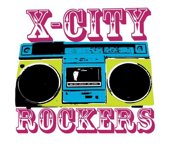 X-CITY ROCKERS Art Print