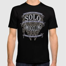 Solo Smuggling SMALL Mens Fitted Tee Black