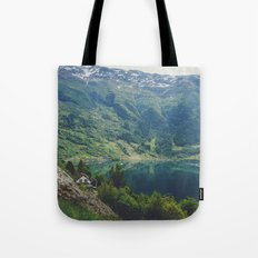 alone up north Tote Bag