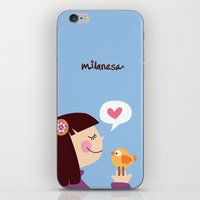 iPhone & iPod Skin featuring Milanesa by Milanesa