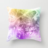the Quantum Mechanic  Throw Pillow