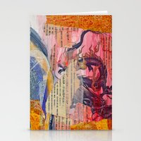 Collage Love - Zhong Lon… Stationery Cards