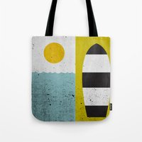 Sun & Board Tote Bag
