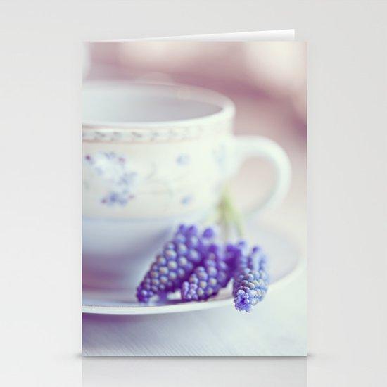 A taste of spring Stationery Card