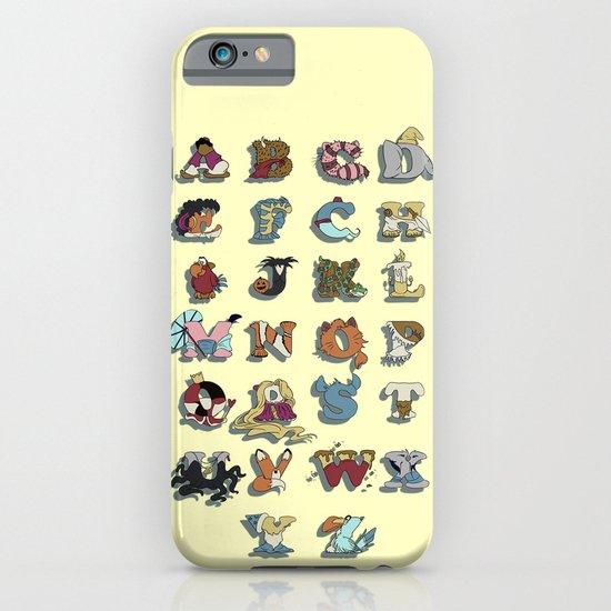 The Disney Alphabet iPhone & iPod Case