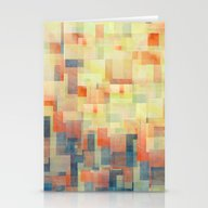 Cubism Dream (Brush Fire… Stationery Cards