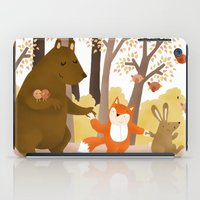 Friends of the forest iPad Case