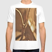 Cross Roads Mens Fitted Tee White SMALL