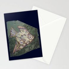Stone fish Stationery Cards