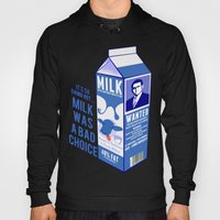 Milk was a Bad Choice ~ Brick Wanted (Anchorman) Hoody