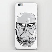 Ralph McQuarrie concept Stormrooper iPhone & iPod Skin