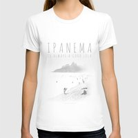 Ipanema Womens Fitted Tee White SMALL