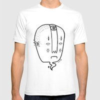 Old Head Mens Fitted Tee White SMALL