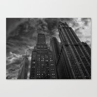 New York Highrise Canvas Print