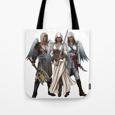 Warrior Angels Tote Bag