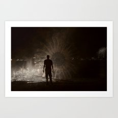 Into The Fire 2013 Art Print