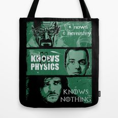 Knowledge Rules Tote Bag