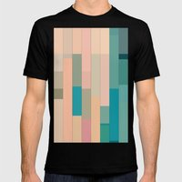 Color Story - Seaside Mens Fitted Tee Black SMALL