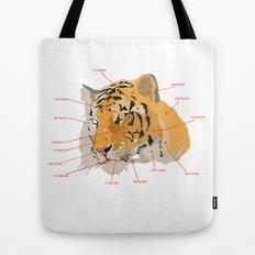 Tiger Colors Tote Bag
