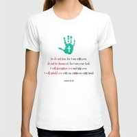 I Will Uphold You! Womens Fitted Tee White SMALL