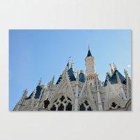 Cinderella's Castle I Canvas Print