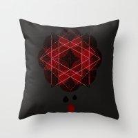Lotus Flower Demon Versi… Throw Pillow