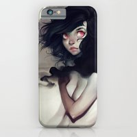 clouds iPhone & iPod Cases featuring Dark Clouds by loish