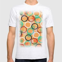Smells like flowers and sun Mens Fitted Tee Ash Grey SMALL