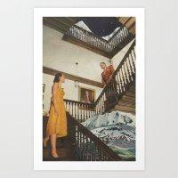 The Staircase Art Print