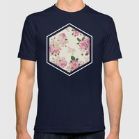 Floribus Sextae Mens Fitted Tee Navy SMALL