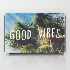 good vibes iPad Case