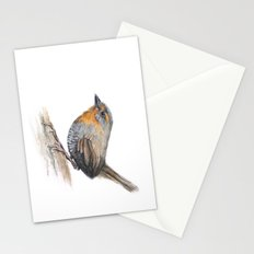 Chucao Bird Watercolor Stationery Cards