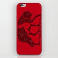 Hungry Like The Wolf iPhone & iPod Skin