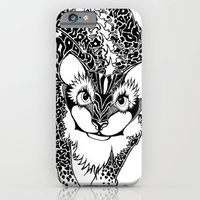 iPhone & iPod Case featuring Black Cheetah by YAP9