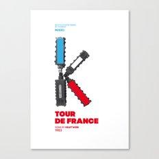 Bike to Life - Kraftwerk Canvas Print