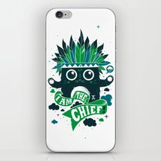 I am the chief! iPhone & iPod Skin