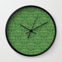 Cloud Factory Damask - W… Wall Clock