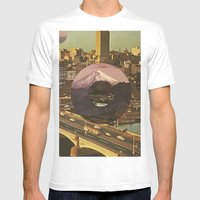 City Transport Mens Fitted Tee White SMALL