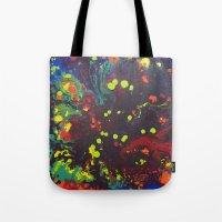 Abstract drops. Tote Bag