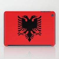 National Flag Of Albania… iPad Case