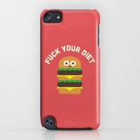 iPhone Cases featuring Discounting Calories by David Olenick