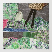 garden of sparkles Canvas Print