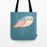 Long Legged Owl Tote Bag