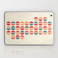 halfsies I Laptop & iPad Skin