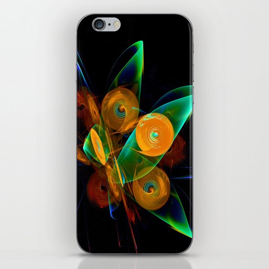 Rotating by Wind iPhone & iPod Skin