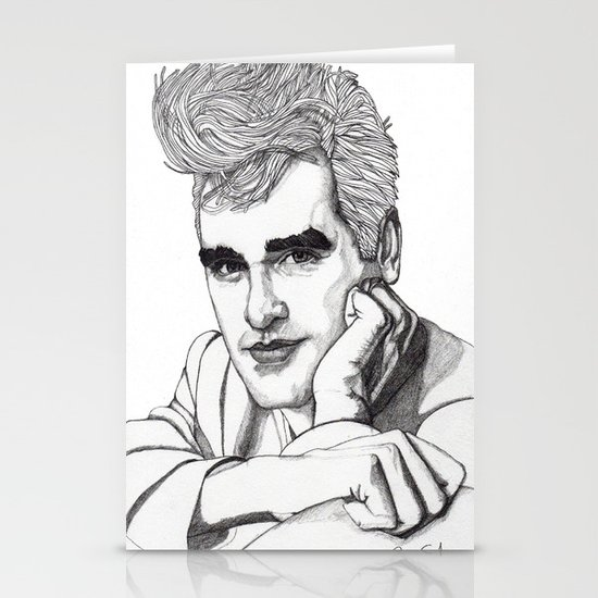This Charming Man  Stationery Card