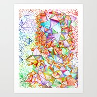 City Of Glass Art Print